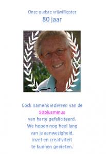 Cock80jaar